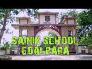 Sainik School Goalpara Recruitment
